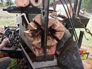Fire Wood Processor