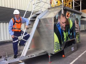 Blackbutt Engineering Trojan-11 confined space trailer
