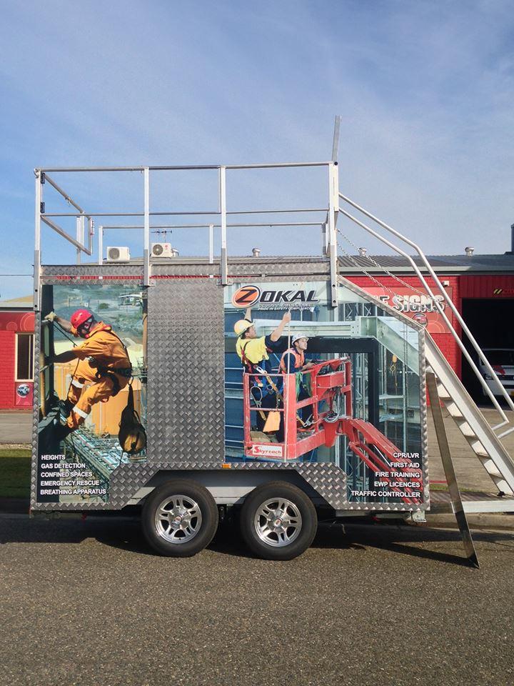 Blackbutt Engineering Trojan-11 confined space trailer