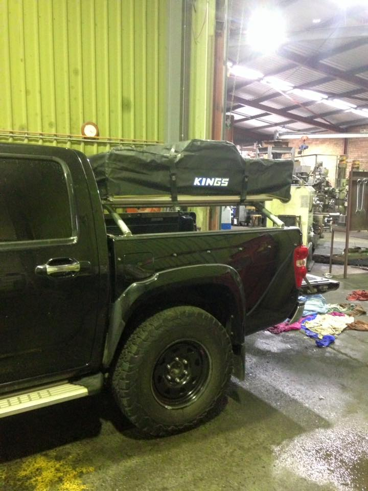 Blackbutt Engineering and Hydraulink Mint Tent