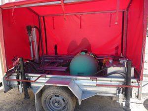 Blackbutt Engineering Hydraulic Core Drilling Trailer