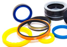 We supply, install and stock Hydraulic Seals