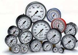 We supply and install pressure gauges